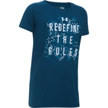 Youth Girls' Under Armour Redefine The Rules T-Shirt