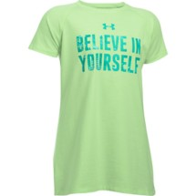 Youth Girls' Under Armour Believe In Yourself T-Shirt