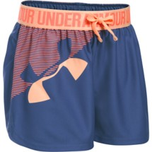 Youth Girls' Under Armour Play Up Graphic Short