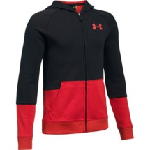 Youth Boys' Under Armour Sportstyle ISO Full Zip Hoodie