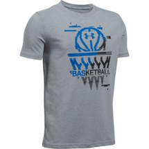 Youth Boys' Under Armour Basketball Badge T-Shirt