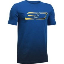 Youth Boys' Under Armour SC30 Player Fade Basketball T-Shirt