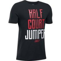 Youth Boys' Under Armour  Half Court Jumper T-Shirt