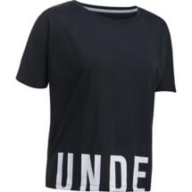 Women's Under Armour Wordmark Hem Cropped T-Shirt
