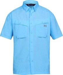 Men's Under Armour Side Chaser Button Up Fishing Shirt