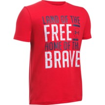 Youth Boys' Under Armour Freedom Land Of The Free T-Shirt