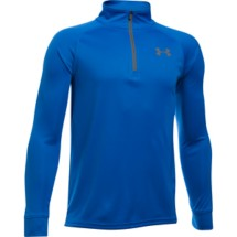 Youth Boys' Under Armour Tech Blocked 1/4 Zip Long Sleeve Shirt