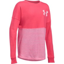Youth Girls' Under Armour Varsity Crew Long Sleeve Shirt