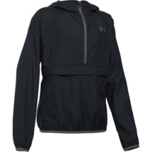 Youth Girls' Under Armour Woven 1/2 Zip Jacket