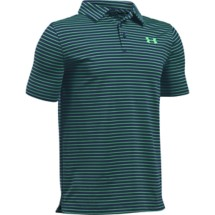 Youth Boys' Under Armour Playoff Stripe Golf Polo