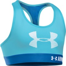 Youth Girls' Under Armour HeatGear ARMOUR Graphic Bra