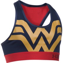 Youth Girls' Under Armour Alter Ego Wonder Woman ARMOUR Bra