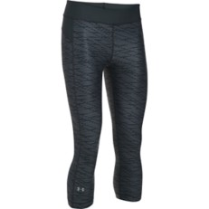 Women's Under Armour HeatGear ARMOUR Printed Capri