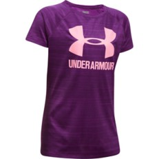 Youth Girls' Under Armour Novelty Big Logo T-Shirt