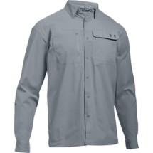 Men's Under Armour Fish Hunter Button Up Fishing Long Sleeve Shirt