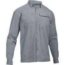 Men's Under Armour Fish Hunter Button Up Fishing Long Sleeve Shirt