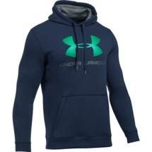 Men's Under Armour Rival Fleece Fitted Graphic Hoodie
