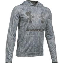 Youth Boys' Under Armour Storm ARMOUR Fleece Big Logo Hoodie