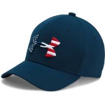 Youth Boys' Under Armour Big Logo Flag Cap