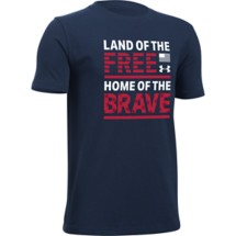 Youth Boys' Under Armour Land Of The Free T-Shirt