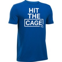 Youth Boys' Under Armour Hit The Cage T-Shirt