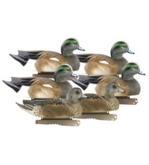 Greenhead Gear Life-Size Wigeon Decoys 6-Pack