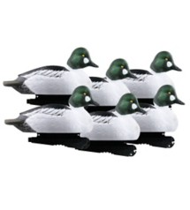 Greenhead Gear Over Size Goldeneyes Duck Decoys 6-Pack