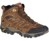 Men's Merrell WIDE Moab 2 Mid Waterproof Hiking Boots