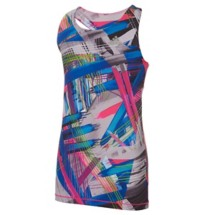Youth Girls' adidas Printed Twist Back Tank