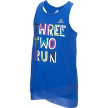 Toddler Girls' adidas Three Two Run Tank