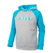 Youth Girls' adidas Colorblock Hooded Sweatshirt