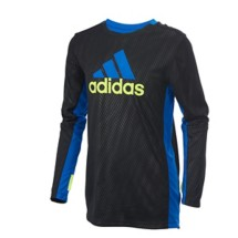 Youth Boys' adidas Long Sleeve Climacool Helix Vibe Training T-Shirt
