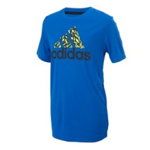 Youth Boys' adidas Short Sleeve Climalite Badge Of Sport T-Shirt
