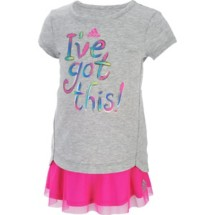 Infant Girls' adidas I've Got This Skort Set