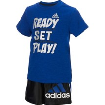 Infant Boys' adidas Ready Set Play Short Set