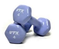 VTX Vinyl 4 lb Dumbbell