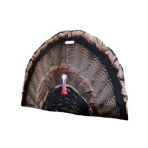 Turkey Fan Decoy Blind