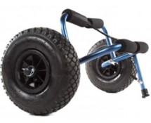 Harmony Stowaway All Terrain Beach Cart with Pneumatic Tires