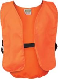 Youth Breaux Blaze Orange Poly Safety Vest