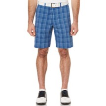 Men's PGA TOUR Flat Front Gingham Golf Short