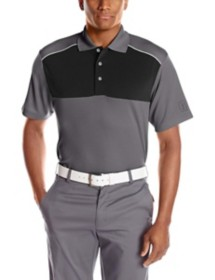 Men's PGA TOUR 3 Color Blocked  Polo