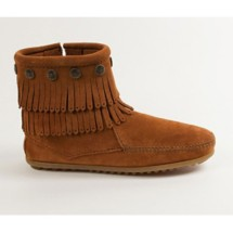 Women's Minnetonka Double Fringe Boot
