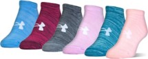Youth Under Armour Essential Twist No Show Socks