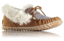 Women's Sorel Out N about Felt Moc Slippers