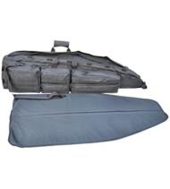 Explorer 52-Inch Rifle Drag Bag With Shooting Mat