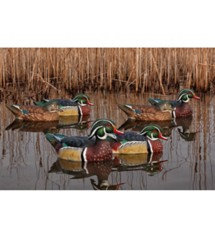 Avian-X Topflight Wood Ducks 6-Pack