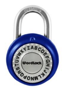 Wordlock Text Lock Combination Dial Lock