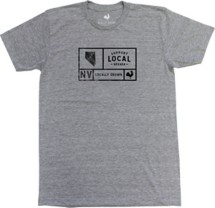 Men's Locally Grown Nevada Support Grid T-Shirt