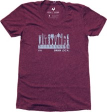 Women's Locally Grown Drink Local Taps T-Shirt