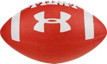 Under Armour Light Red Mini Football